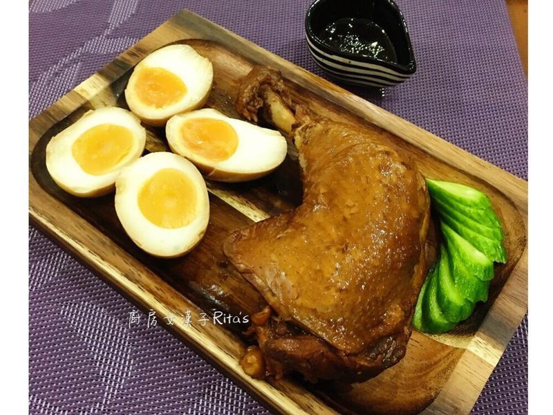醬滷雞腿+溏心蛋