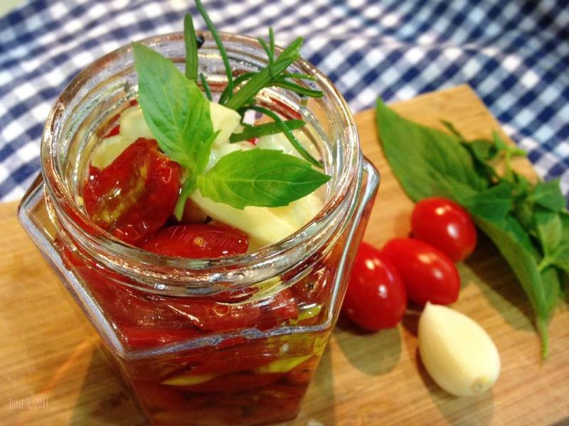 油漬番茄 Sundried tomato