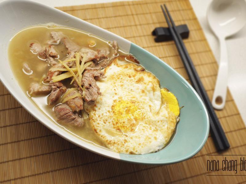 Nana ▌薑蛋豬肉