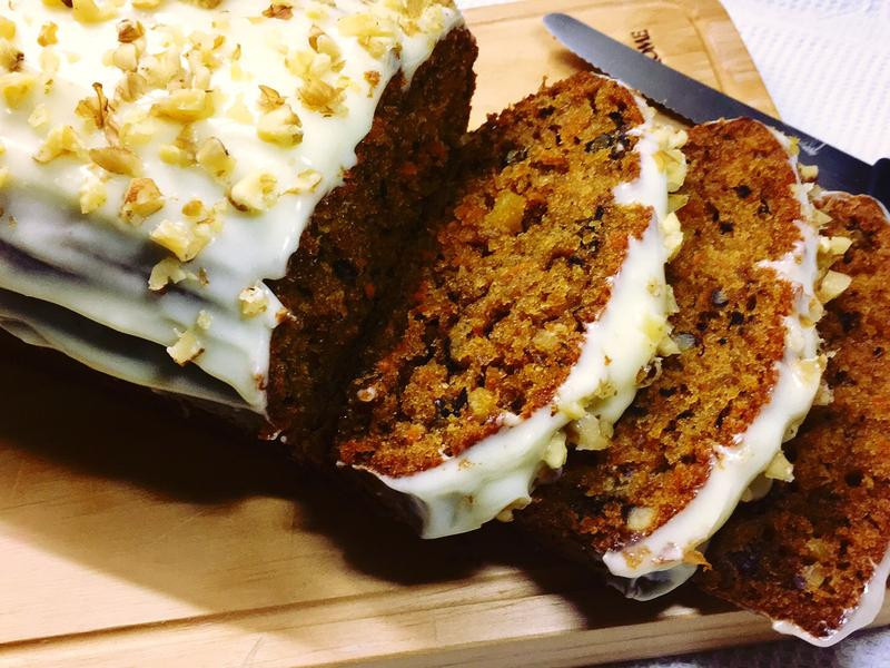 Carrot cake 胡蘿蔔蛋糕🥕