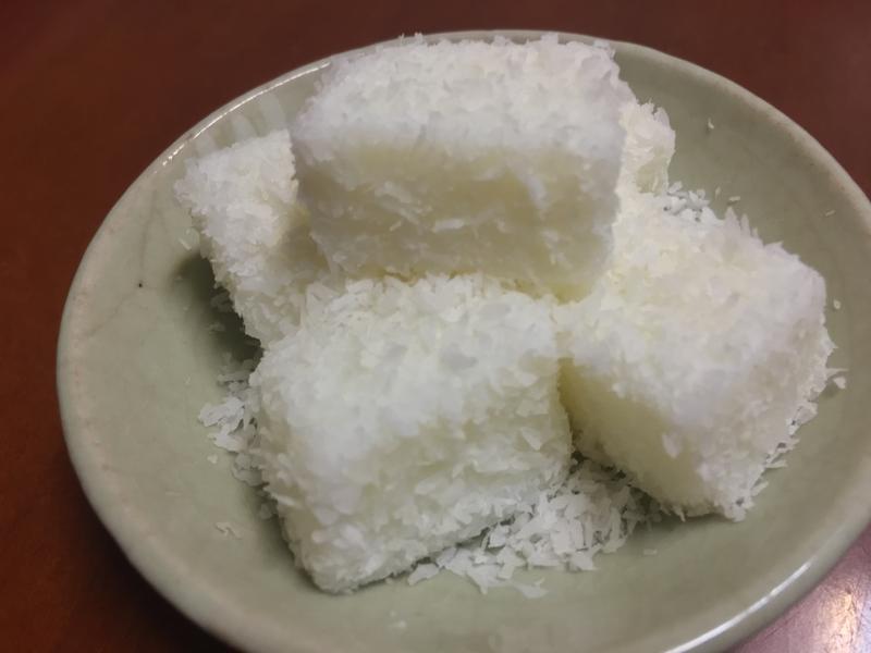 椰香雪花糕