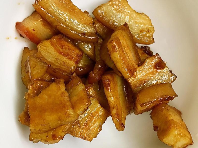 お弁当-170615-焦糖五花肉