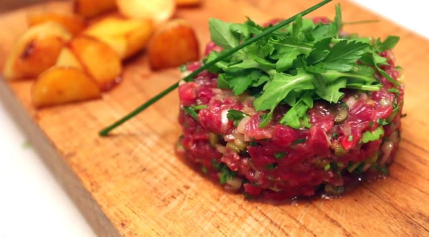 韃靼牛肉(法式)