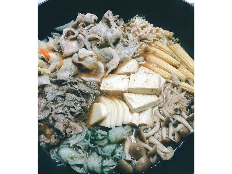 日式壽喜燒火鍋(約4人份)
