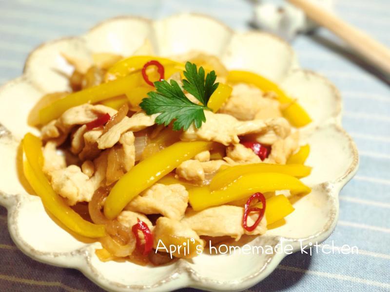 鹽漬檸檬炒雞胸肉 2種做法