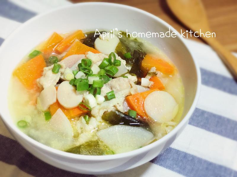 豬肉味噌湯 材料簡單清冰箱