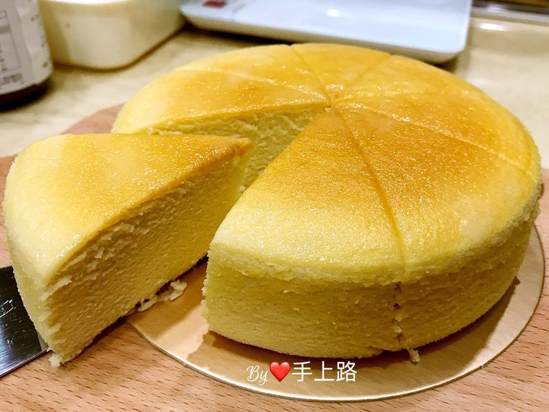 養樂多輕乳酪蛋糕(6吋、水波爐烘烤)