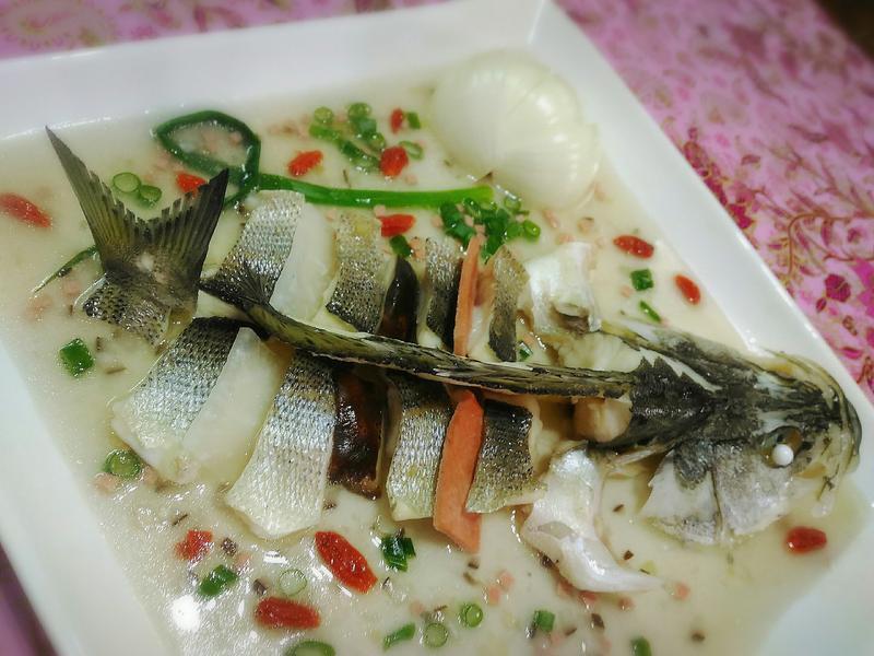 清蒸麒麟魚