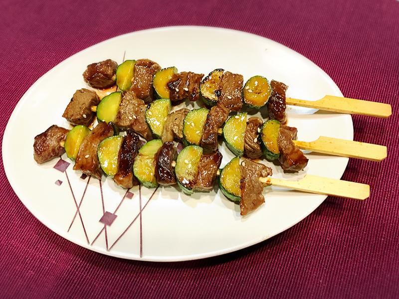 燒烤牛肉串