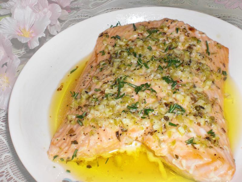義式檸檬奶油鮭魚