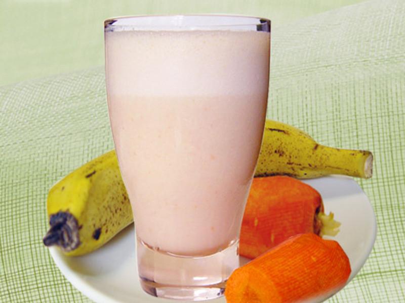 【厚生廚房】香蕉胡蘿蔔牛奶