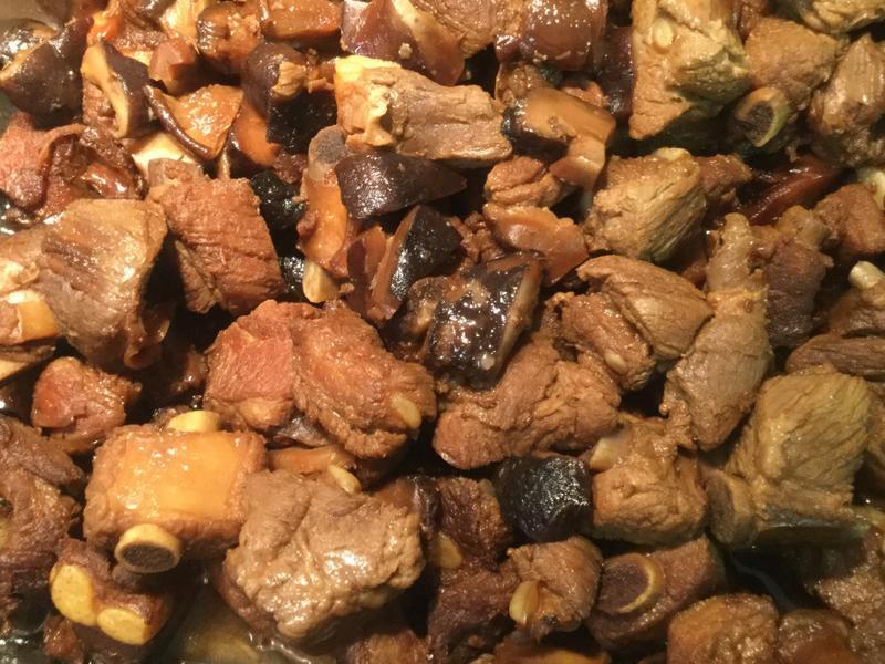 葷菜-香菇燒排骨