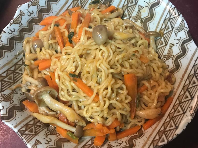 🔥🌶韓國風味炒泡麵 🌶🔥