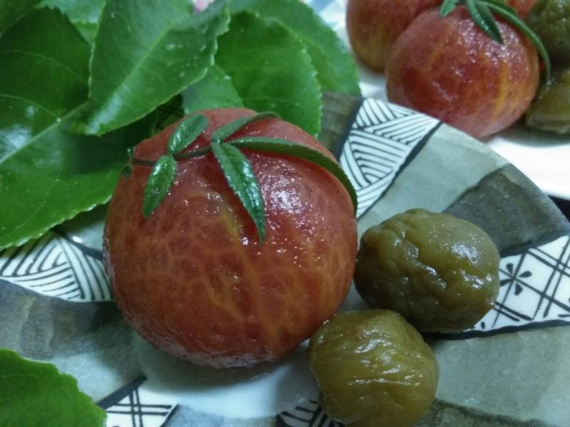 養生甜品─梅香漬牛蕃茄