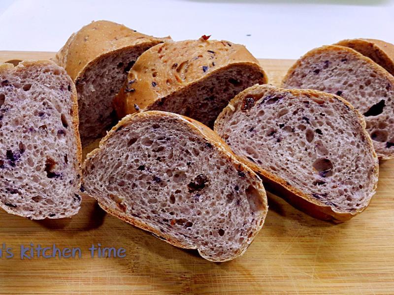 藍莓鄉村麵包