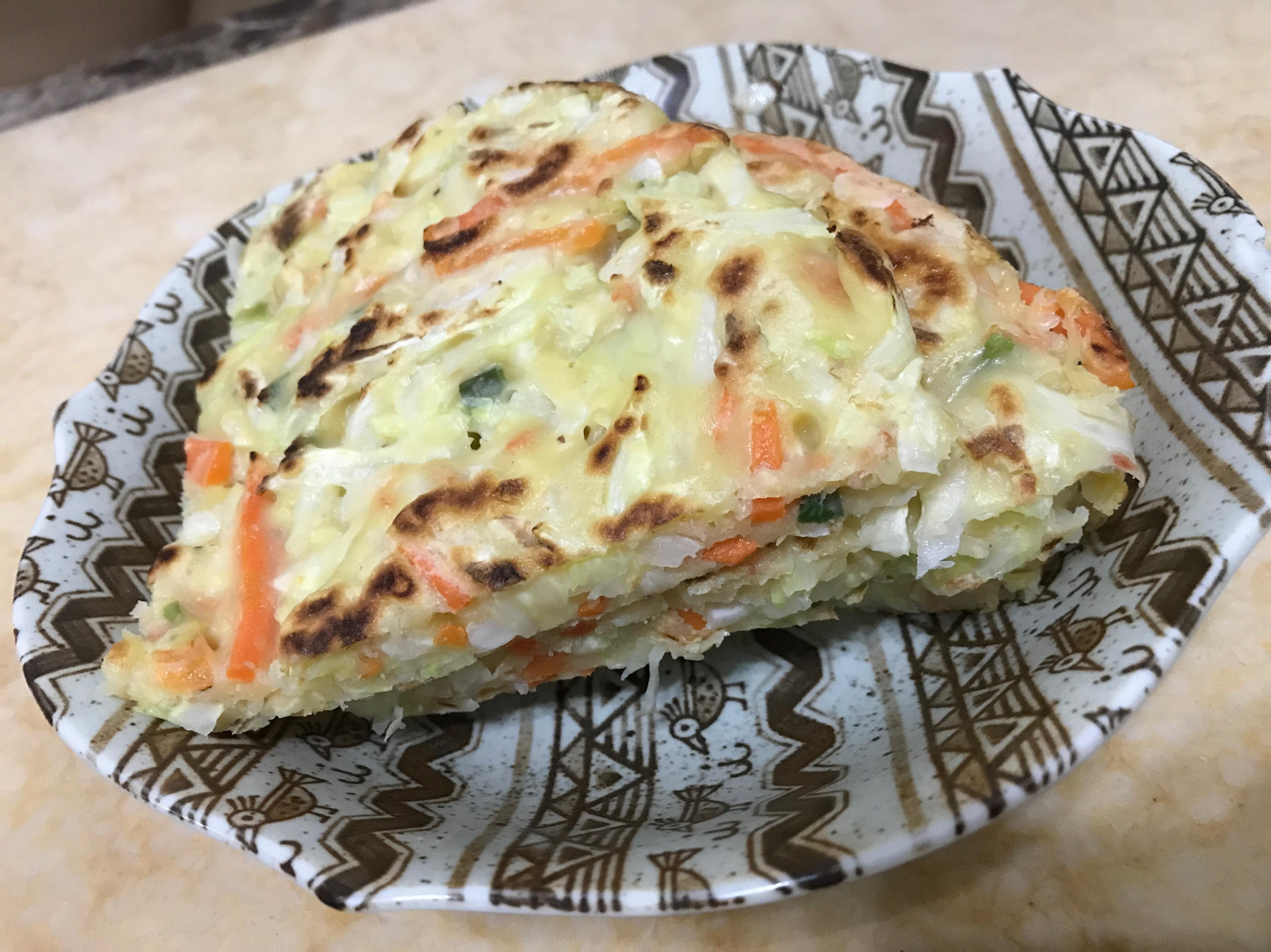 養身蔬菜煎餅🥕🥕