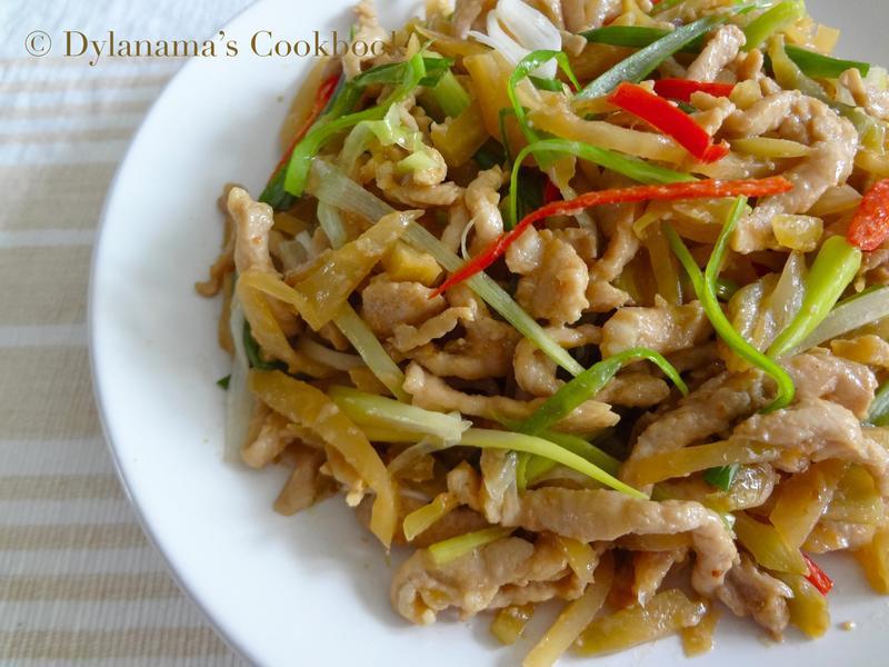 DYLANAMA ♥ 榨菜炒肉絲