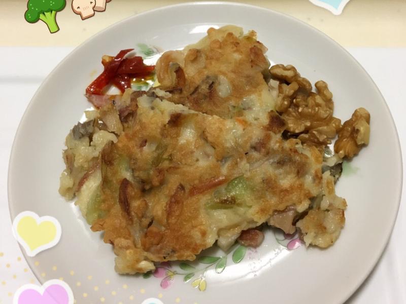 什錦蔬菜煎餅
