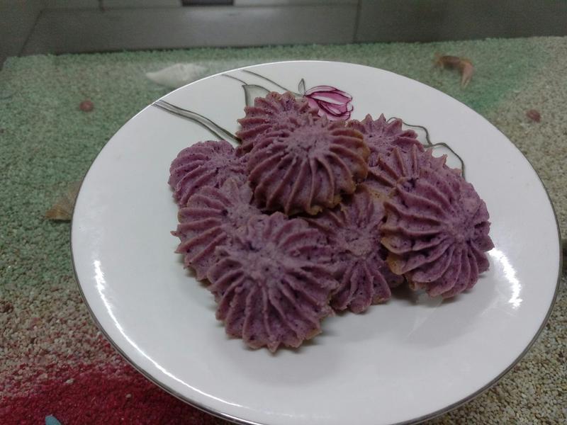 紫薯曲奇餅乾