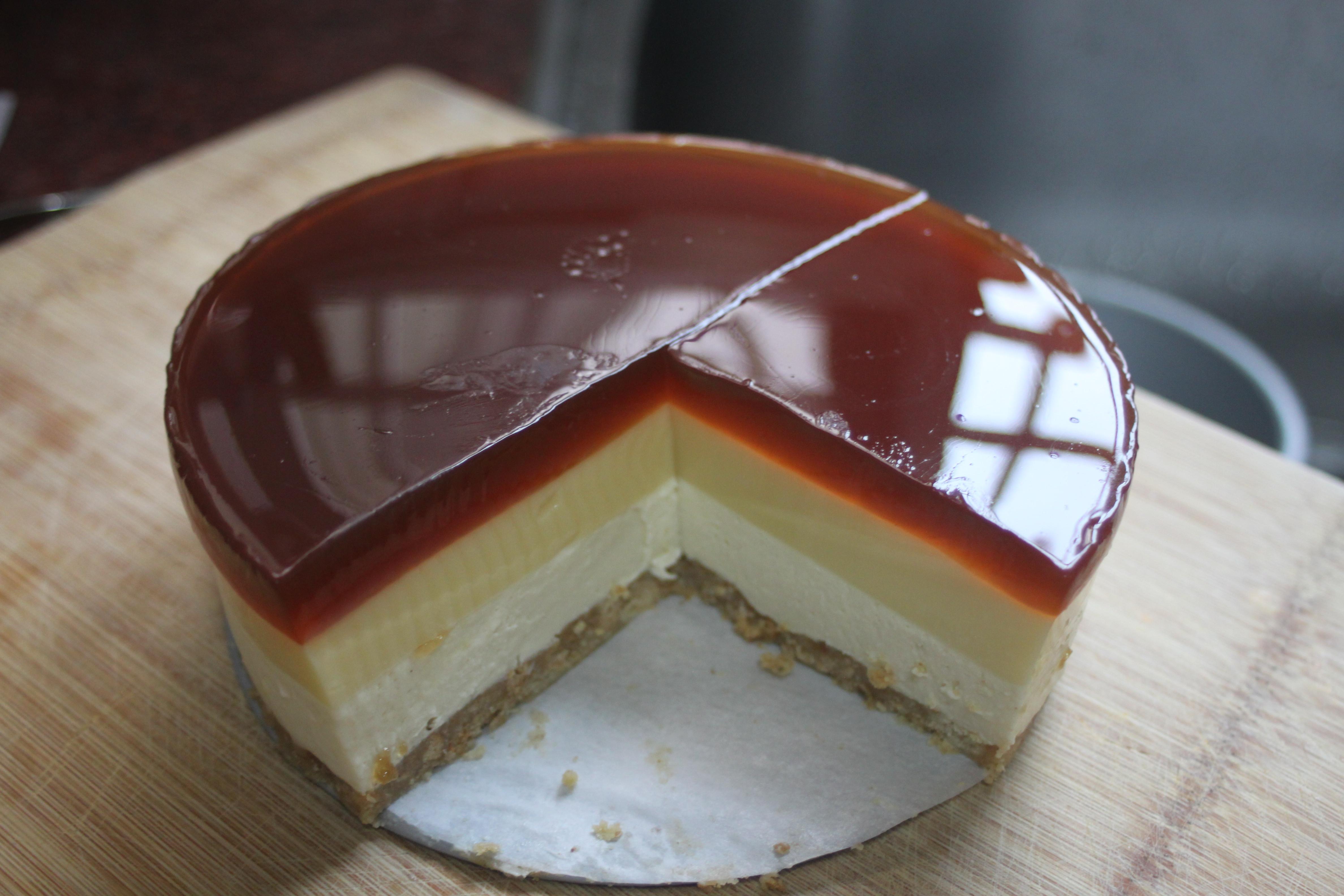 焦糖布丁乳酪蛋糕 6吋