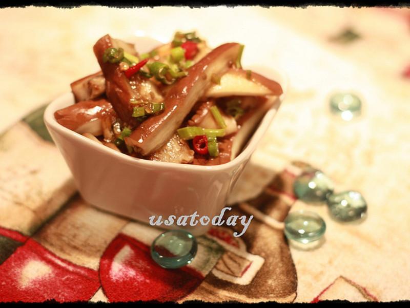 低熱量天熱開胃菜-手撕涼拌笳子 Asian Eggplant Salad