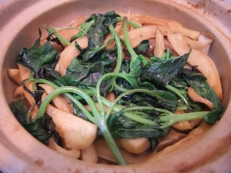 【小雨食堂】三杯杏鮑菇