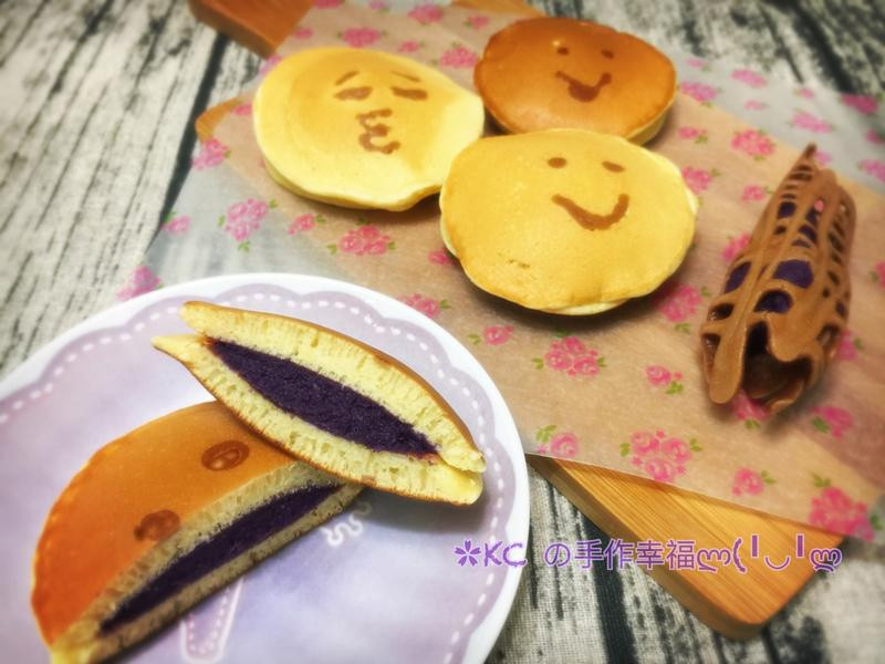 😊紫薯銅鑼燒😊