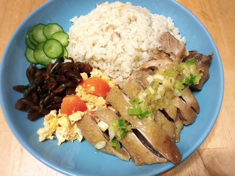 海南雞飯-平底鍋瓦斯爐版