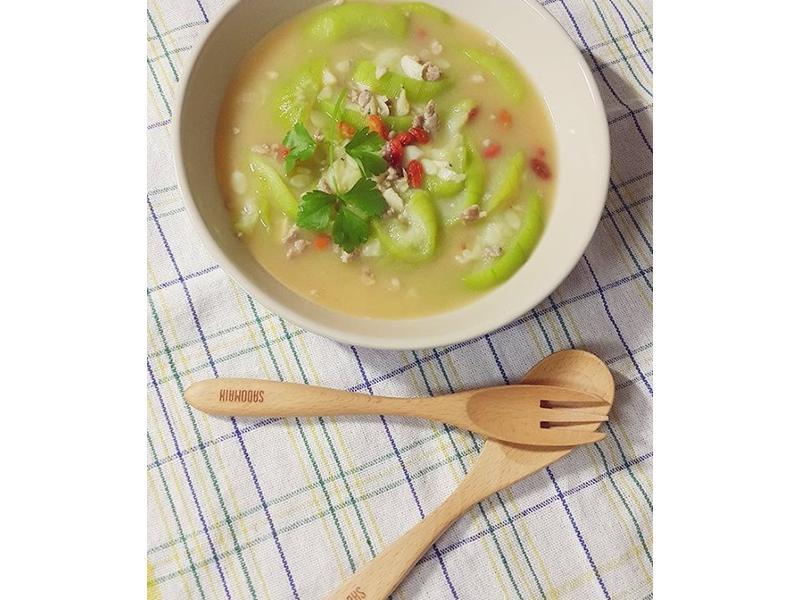 味噌絲瓜煮