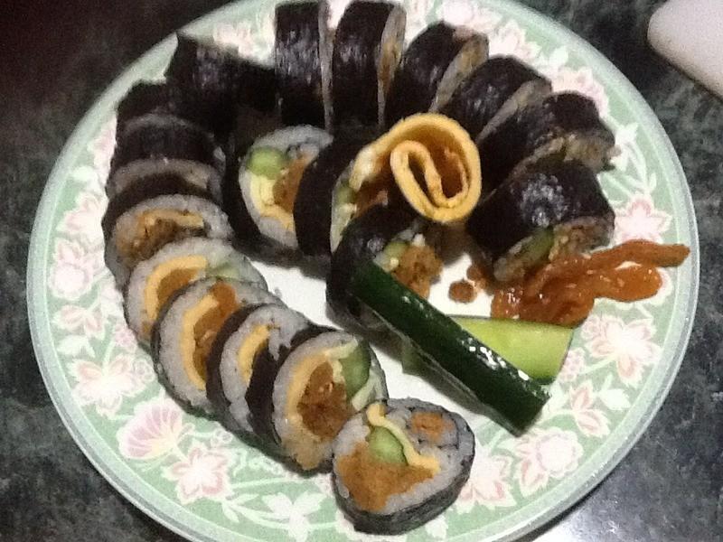 【小仙の家常料理】有媽媽味道的芝司樂起士海苔壽司~