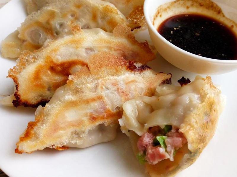 絲瓜豬肉煎餃〞不出水的內餡處理技巧
