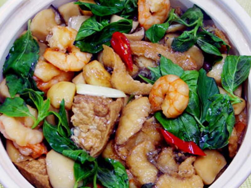 【厚生廚房】三杯海鮮鍋