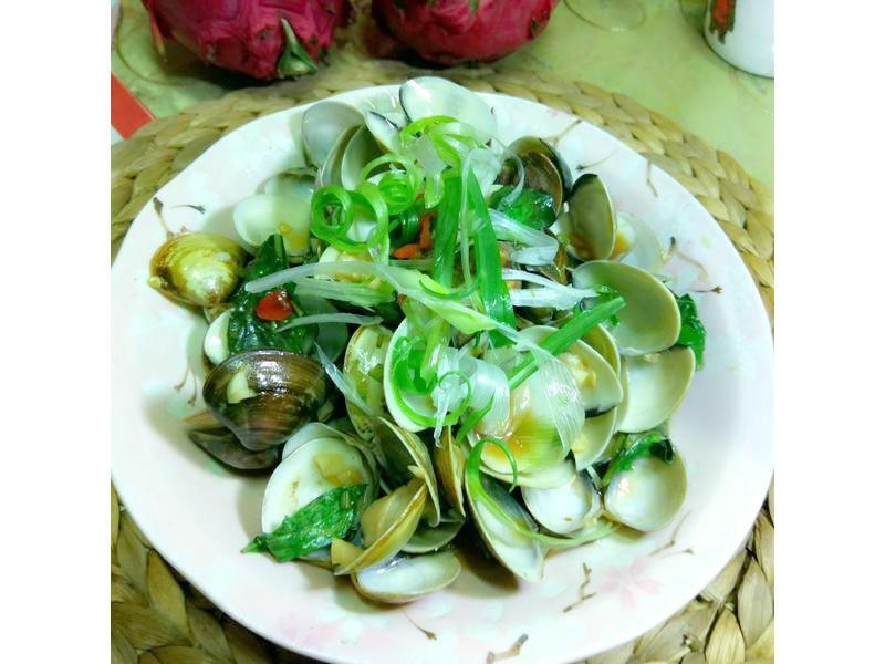 越式蠔油蛤蜊