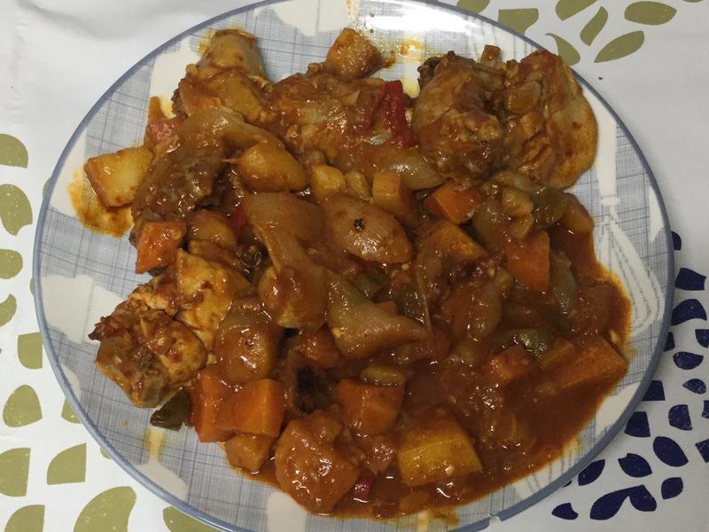 (韓式)炒雞肉 닭볶음탕