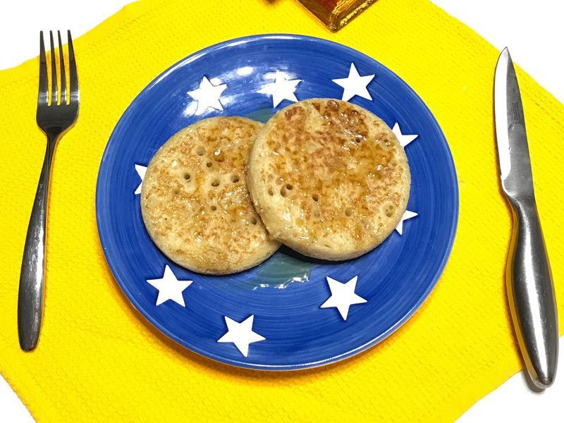 英式小圓煎餅Crumpet
