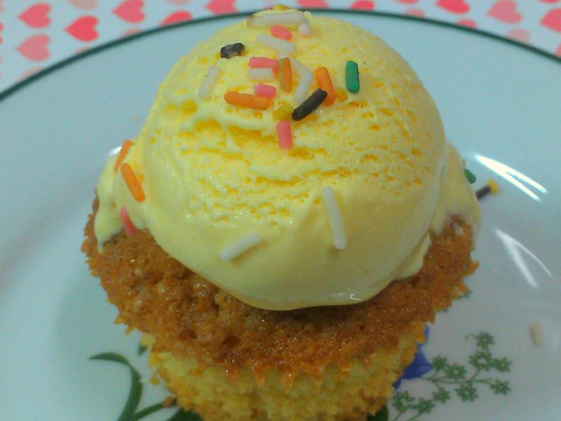 ㄚ曼達的廚房~冰淇淋馬芬蛋糕