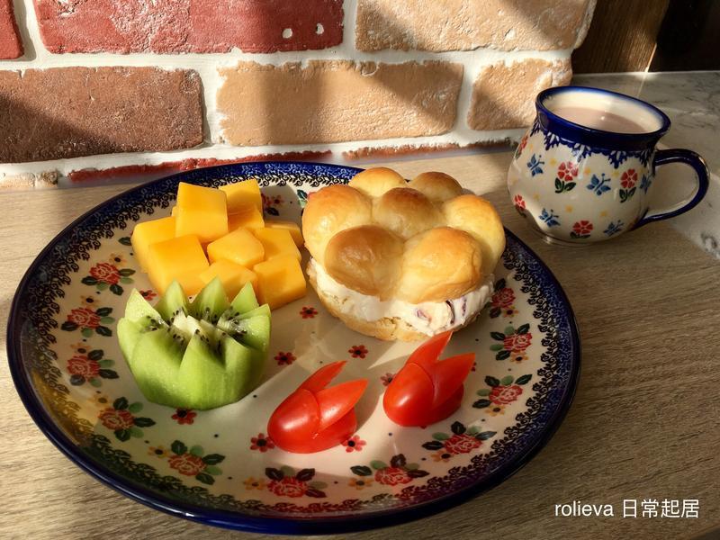 茄兔蔓越莓乳酪花圈堡芒果🥝🍅巧克力奶