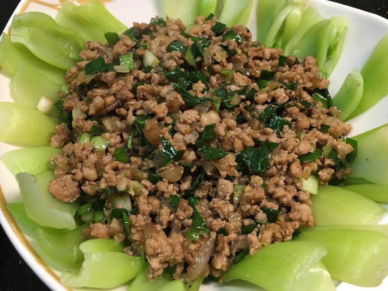 韭香薑炒豬肉