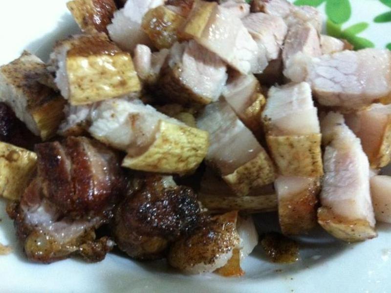 氣炸鍋-烤三層肉(五花肉)