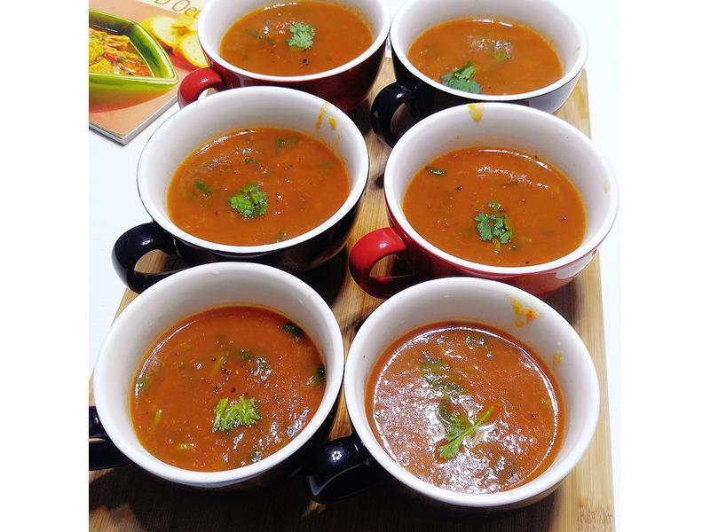 燈籠椒Capsicum soup