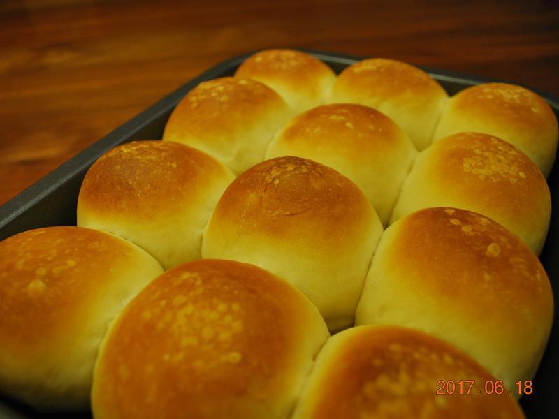 【麵包機】手撕麵包經典版 (低溫發酵法)