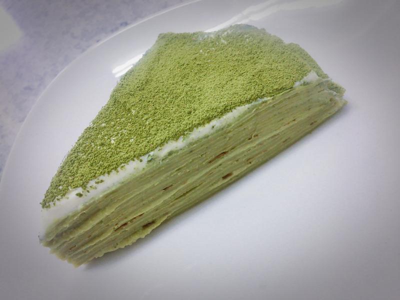 爵士抹茶千層蛋糕