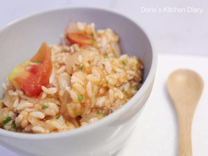 「寶寶食譜」番茄肉醬燉飯營養滿分