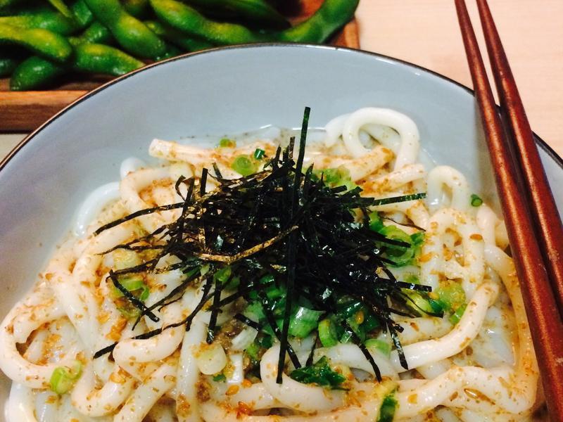 快速料理❤️日式胡麻涼麵