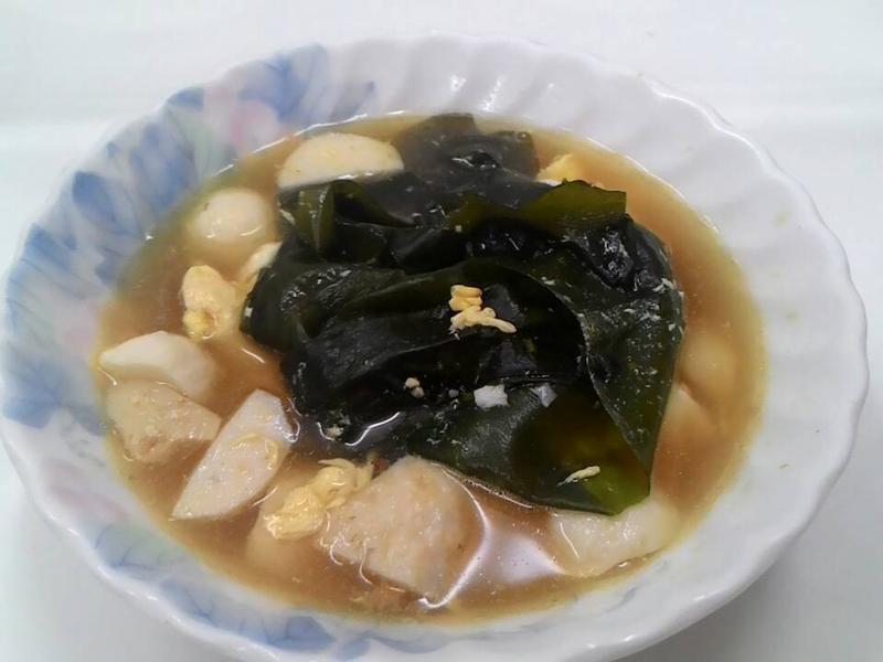 海帶魚丸湯