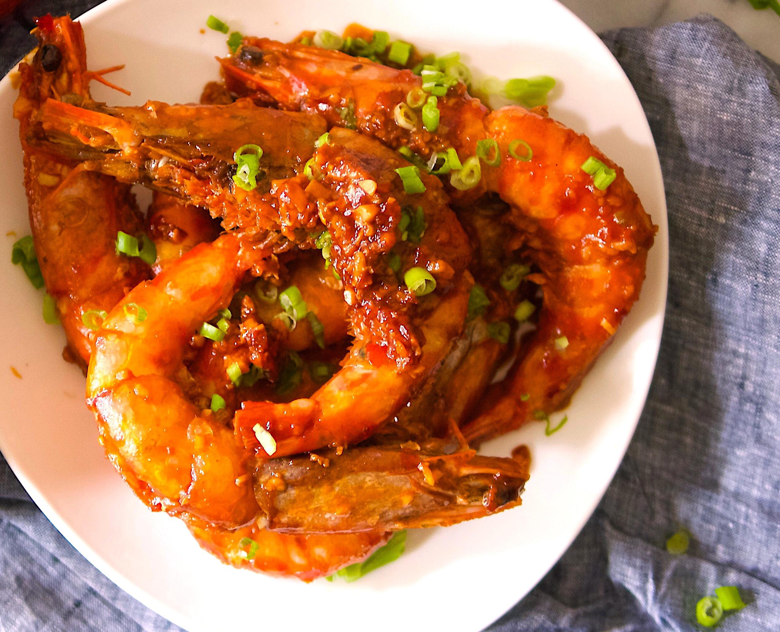 茄汁乾燒明蝦