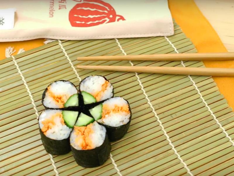 鮭魚壽司卷【影音食譜】