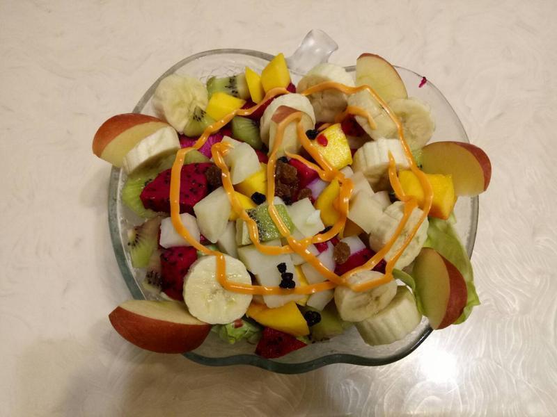 生菜水果沙拉【夏季開胃菜】