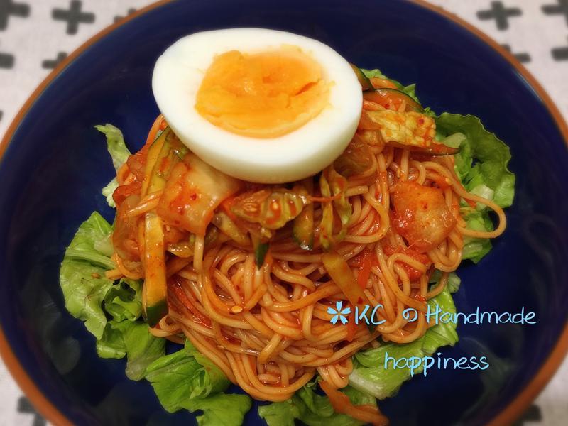 韓式辣醬冷拌麵🍜