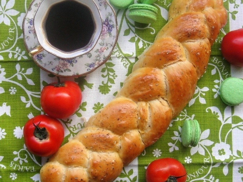 辮子麵包 Braided Bread